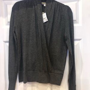 New Cato wrap sweater size S